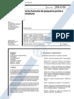 NBR 11850_91 (EB-2150) - CANC - Porta-fusíveis Para Fusíveis de Pequeno Porte e Miniatura - 12pag