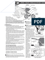 Bob Sport Utility Stoller Owner's Manual