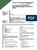 NBR 11867_91 (EB-2167) - Arame Redondo de Aço-carbono, Trefilado, Para Fabricação de Molas de Estofados - 4pag