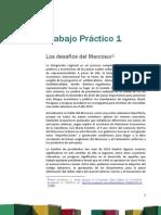 Trabajo Práctico Nº 1. Los Desafíos Del Mercosur