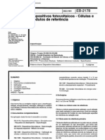 NBR 11878_91 (EB-2178) - CANC - Dispositivos Fotovoltaicos - Células e Módulos de Referência - 5pag
