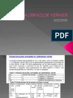 Calibrador Vernier 1