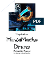 MegaMacho Drums BT READ ME