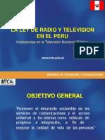 Clase4-Ley de Radio y Tv