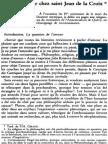 Amour Et Désir Chez Saint Jean de La Croix NRT 113-4 (1991) p.498-515 María Del Sagrario Rollán