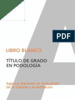 Libroblanco Podologia Def