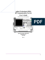 8920A RF Communications Test Set Users Guide (Apr00) 08920 90219