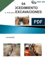 Trabajo de Excavaciones