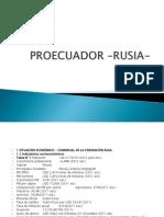 PROECUADOR –RUSIA-