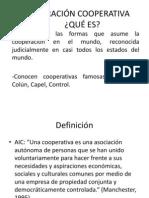 COOPERACIÓN COOPERATIVA