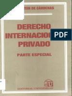 Feldstein de Cárdenas - Derecho Internacional Privado Parte Especial