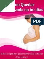 Como Quedar Embarazada en 60 Dias de Anne Johnson