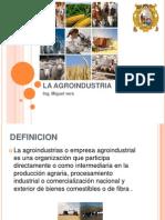Mp1 La Agroindustria