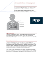 Drainage of Pleural Effusions