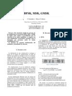BFSK,MSK y GMSK