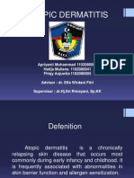 Atopic Dermatitis Presentsi
