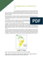 Manejo Productivo Agropecuario en Condiciones de Escasez de Lluvias(1)