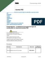 Calibracion Motor Scnia k310 y k230 PDE