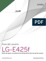 Manual de Usuario LG-E425f