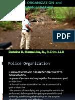 Police Organization Ppt