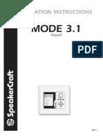 MODE 3.1 Installation Instructions REV 1.1