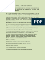 Salud Ocupacional SENA, Actividad 3