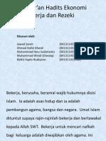 Al-Qur'an Hadits Ekonomi 1