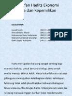 Al-Qur'an Hadits Ekonomi 3