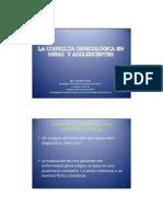 Consulta Ginecológica en Niñas y Adolescentes-Anticoncepción