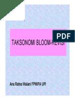 Taksonomi Bloom Revisi