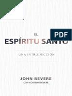 Holy Spirit Book Spanish