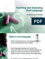 Oral Language PPT
