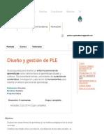 Diseño y Gestión de PLE