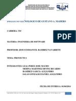 Proyecto Implementación de Un Sistema