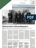 Transformacion del Sector Bancario een una coyuntura de crísis 11NOV2009