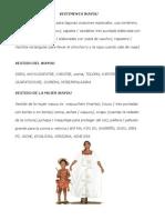 Vestimenta Wayuu