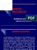 07. Indices Mecánicos