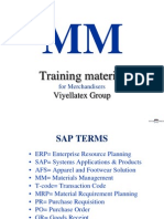 SAP for MM