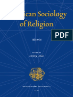 Anthony Blasy Sociology of Religions