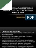 d. Penal 3 - 10. Delitos Contra La Adm. Púb. i