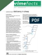Selenium Deficiency in Sheep Se Dosage Info