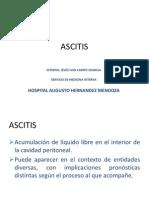 ASCITIS - internado 2014