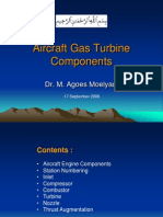 AE3212 Aircraft Gas Turbine Components
