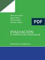 Evaluacion Al Servicio de Los Aprendizajes 0