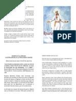 Oraciones Del Rosario de La Armada_libro