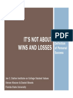Its Not About Wins and Losses_John Woodens Definition of Personal Success
