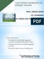 Presentation Light Weight Adnan Qadir 140612