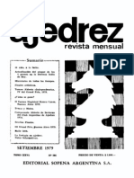 Ajedrez 305-Sep 1979 Ocr