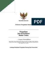 Dok. Pemilihan Jasa Konsultansi Bencana Daerah