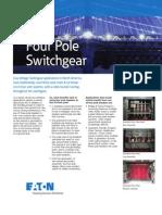 4 Pole switchgear